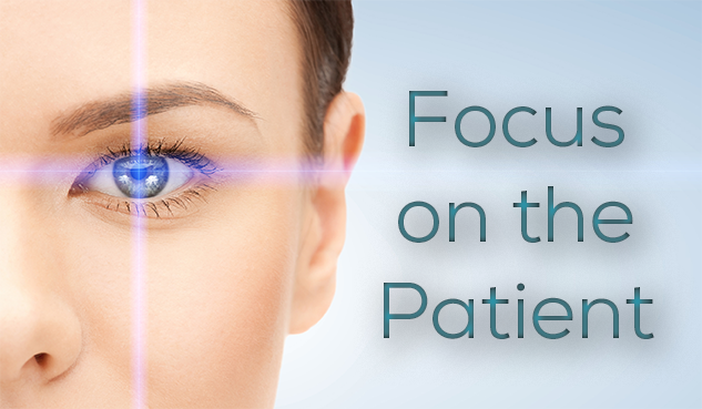 Focus on the Patient banner